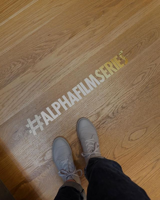 The guests are arriving. It's going to be a fun night. 📸: @jordandshort  #AlphaFilmSeries #AFSPremiere #USA #TryAlpha #RunAlpha