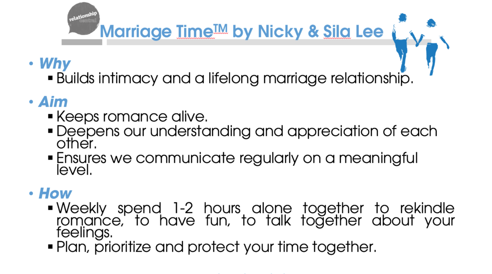 Marriage Time power point slide  (click to download)