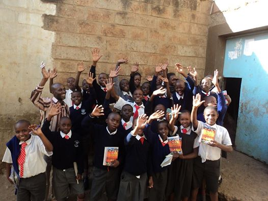 Museza Academy Children receive Bibles