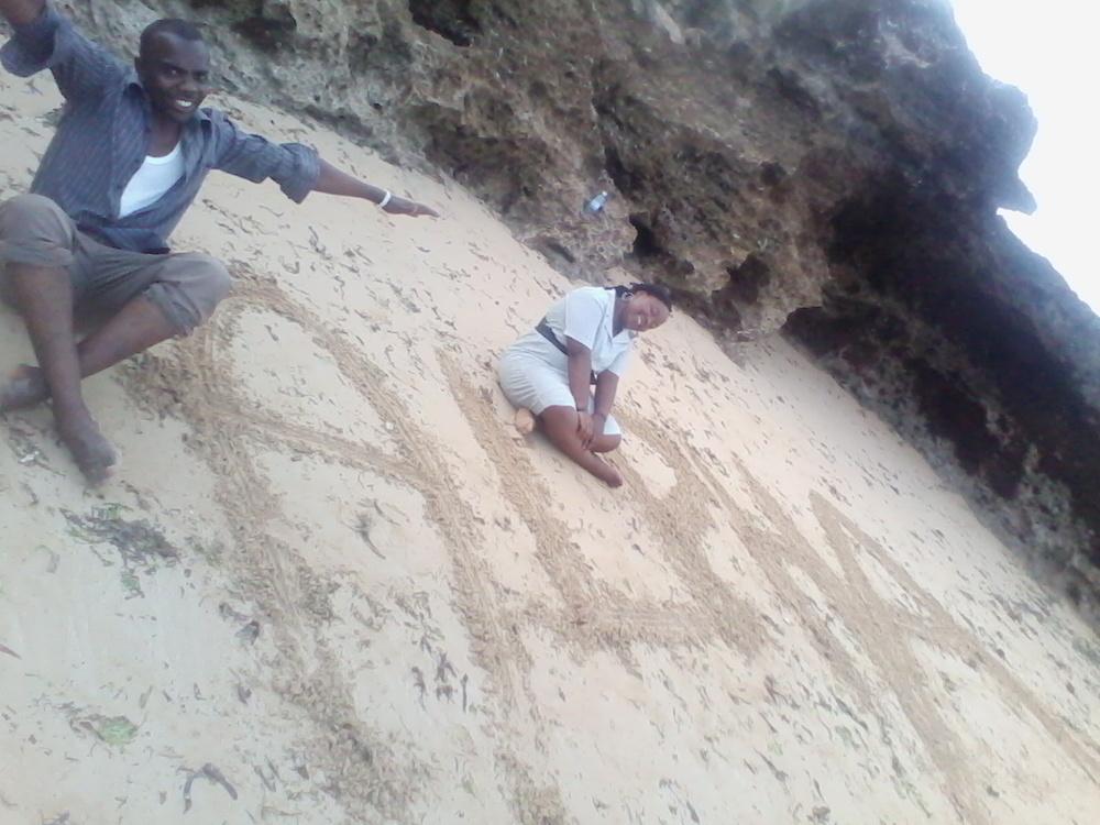 Alpha reaching the desert lands of Turkana in Northern Kenya