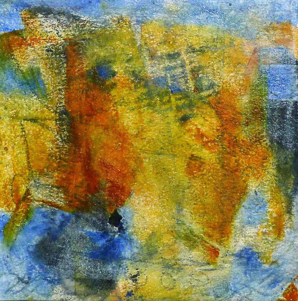 Perceptual Openings - Artist Kathy Elliott   http://kathyelliottart.blogspot.com  #oilandcoldwax # abstractart