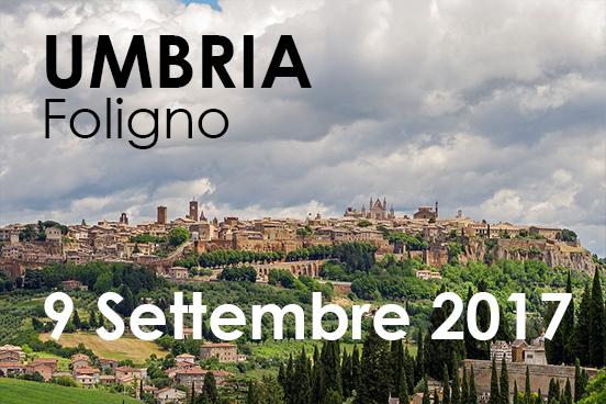 Iscriviti al training | 9 settembre 2017 a Foligno, UMBRIA