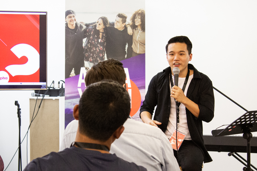 Paul Kong, Global Development Head for Campus and Deputy National Coordinator of Alpha Malaysia