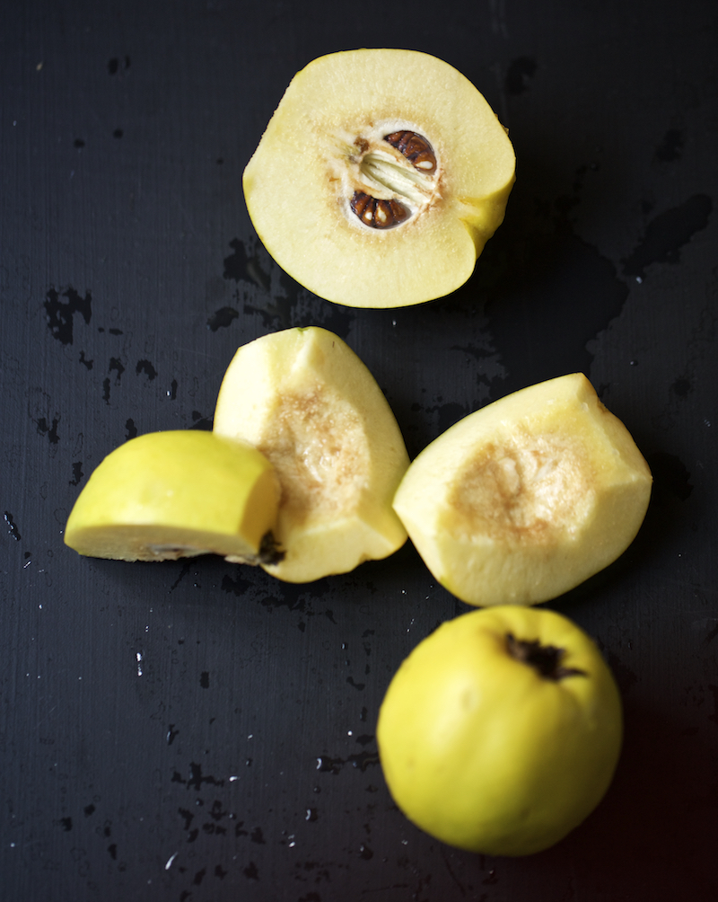 This month we focus on quince.