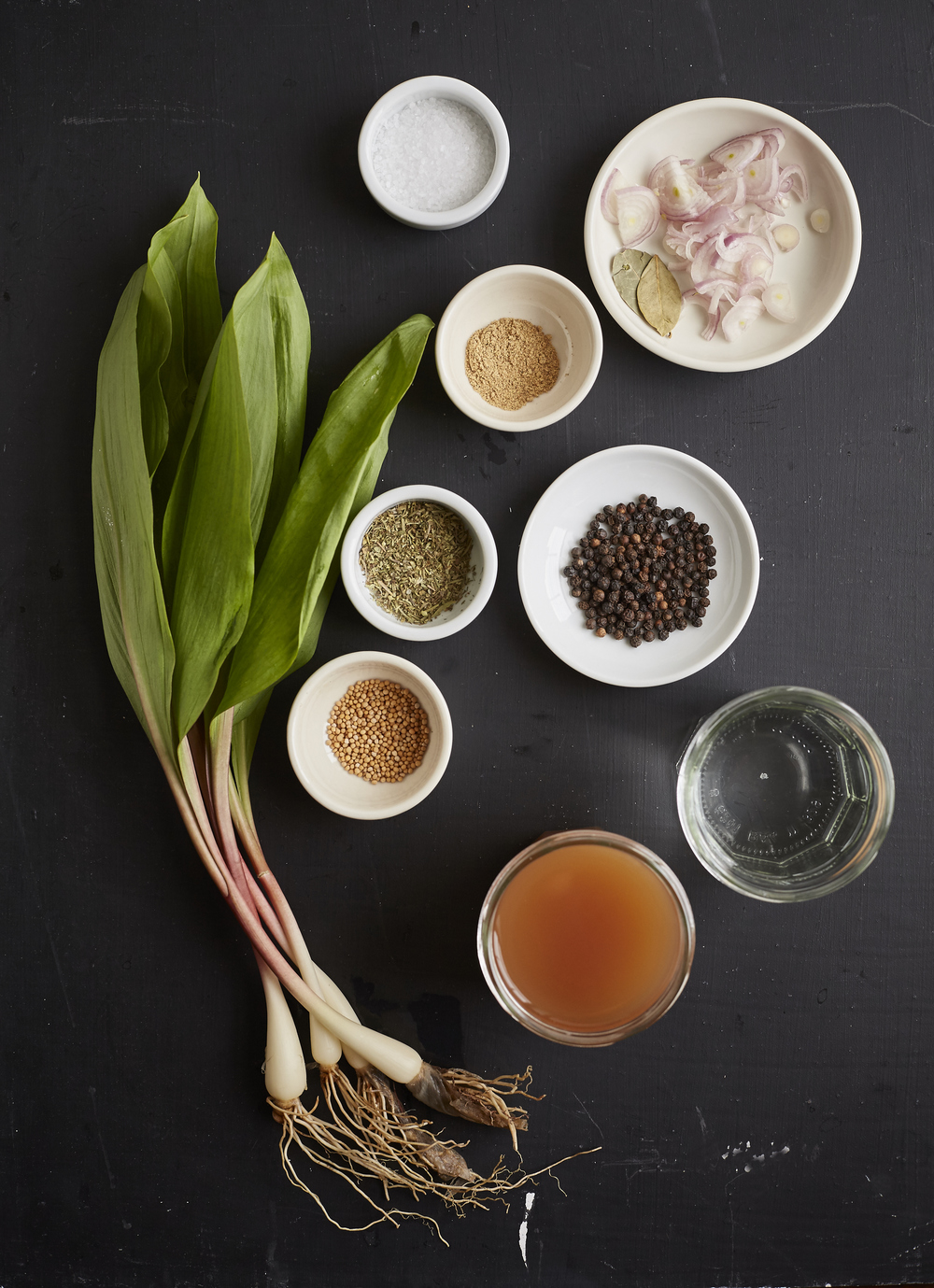 Evi Abeler Food Photography Pickled Ramps