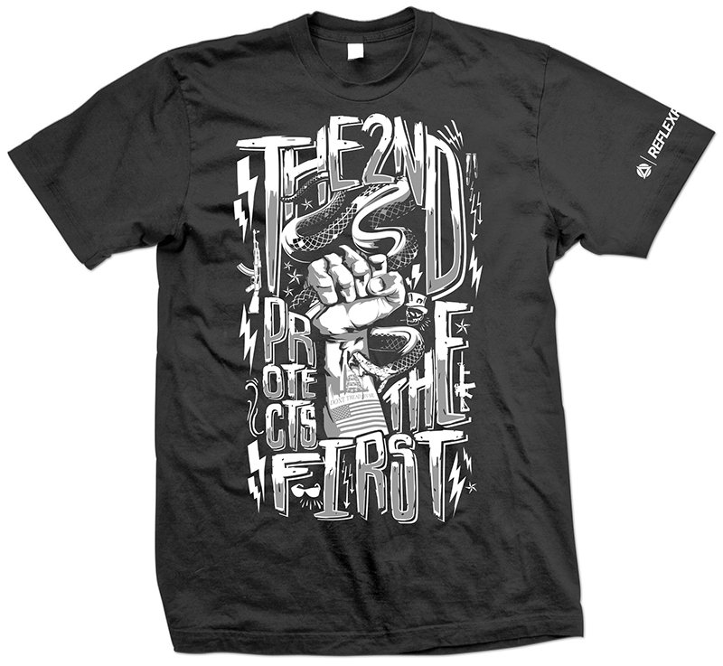 The Second Protects Tee - $25