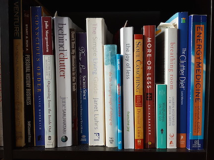 Live With Less organizing books