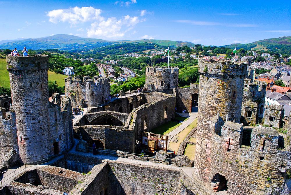 Conwy Castle // Conwy, Wales