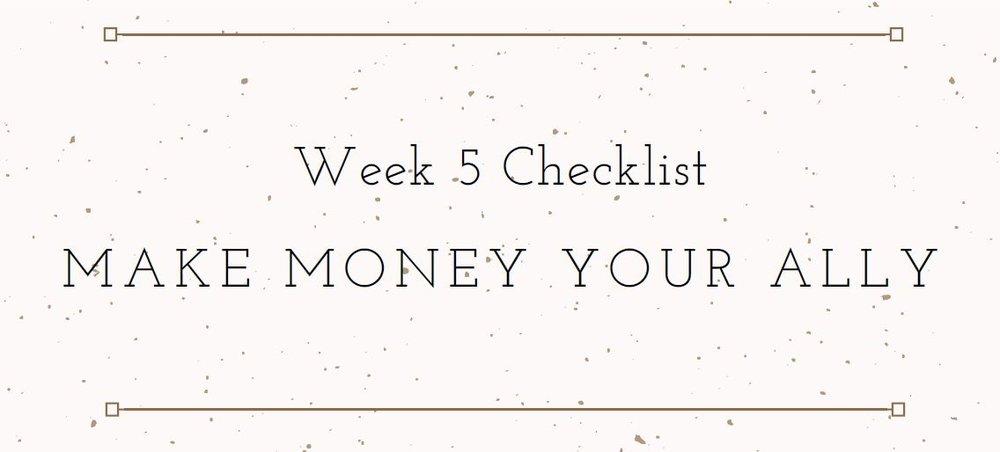 Week_5_Checklist_Mythical_Enterprise_Business_Incubator