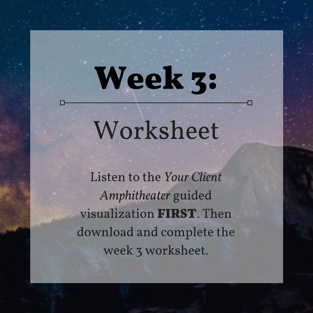 Week 3 Worksheet