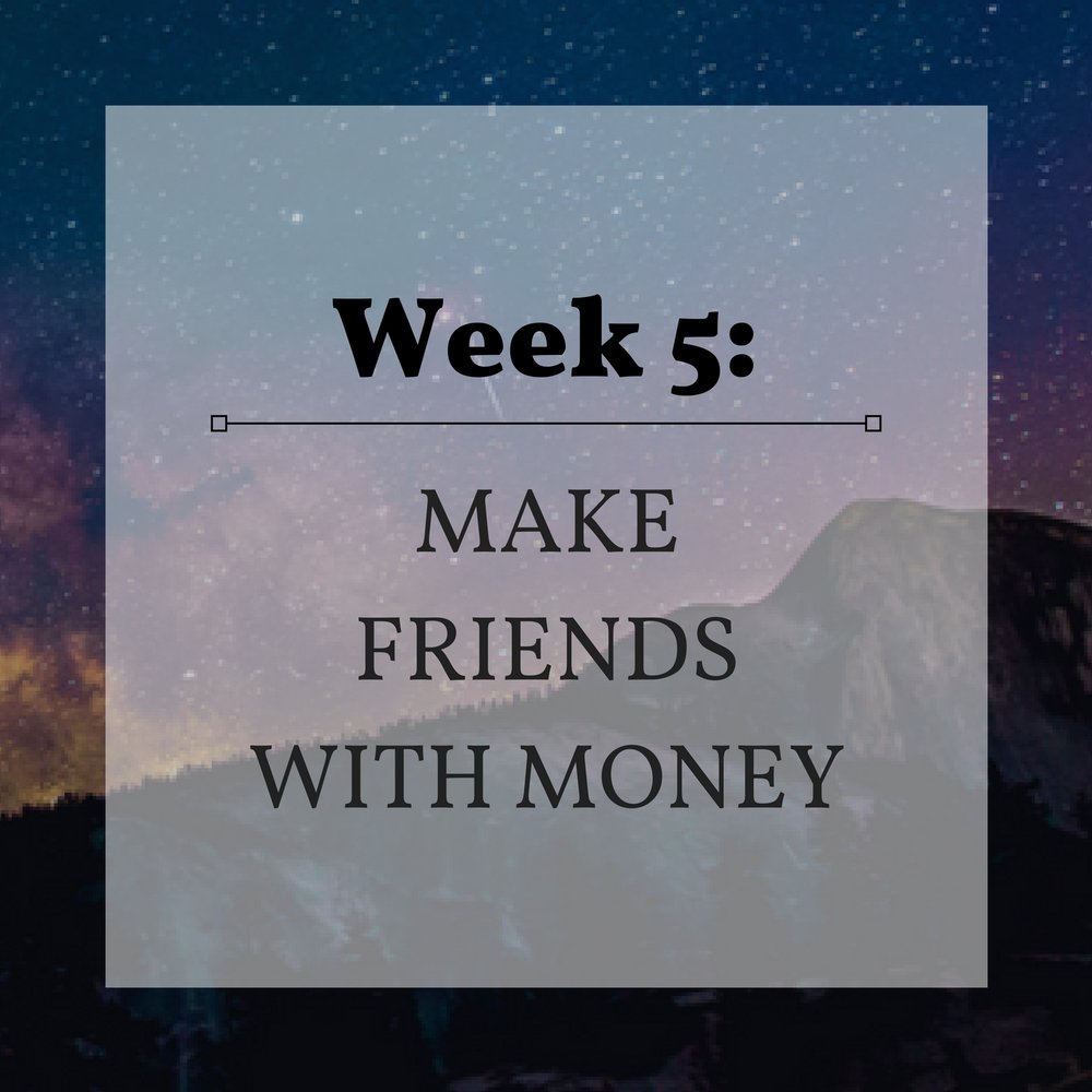 Week 5 Make Friends with Money