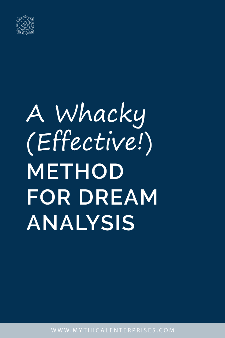 A Whacky Effective Method for Dream Analysis
