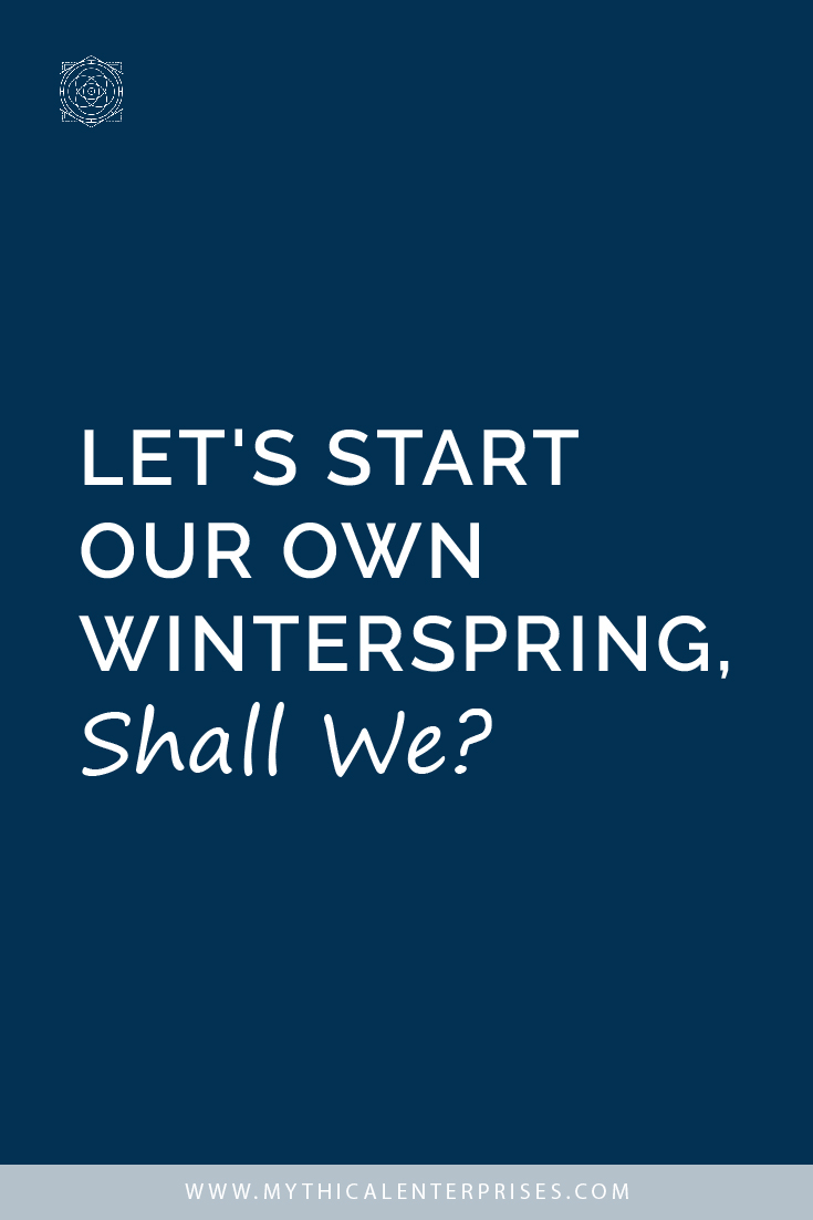 Let's Start Our Own Winterspring, Shall We?