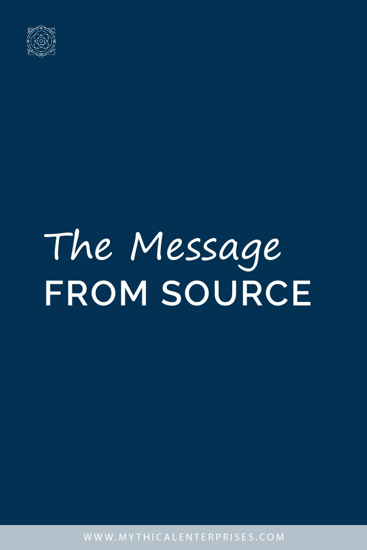 The Message from Source