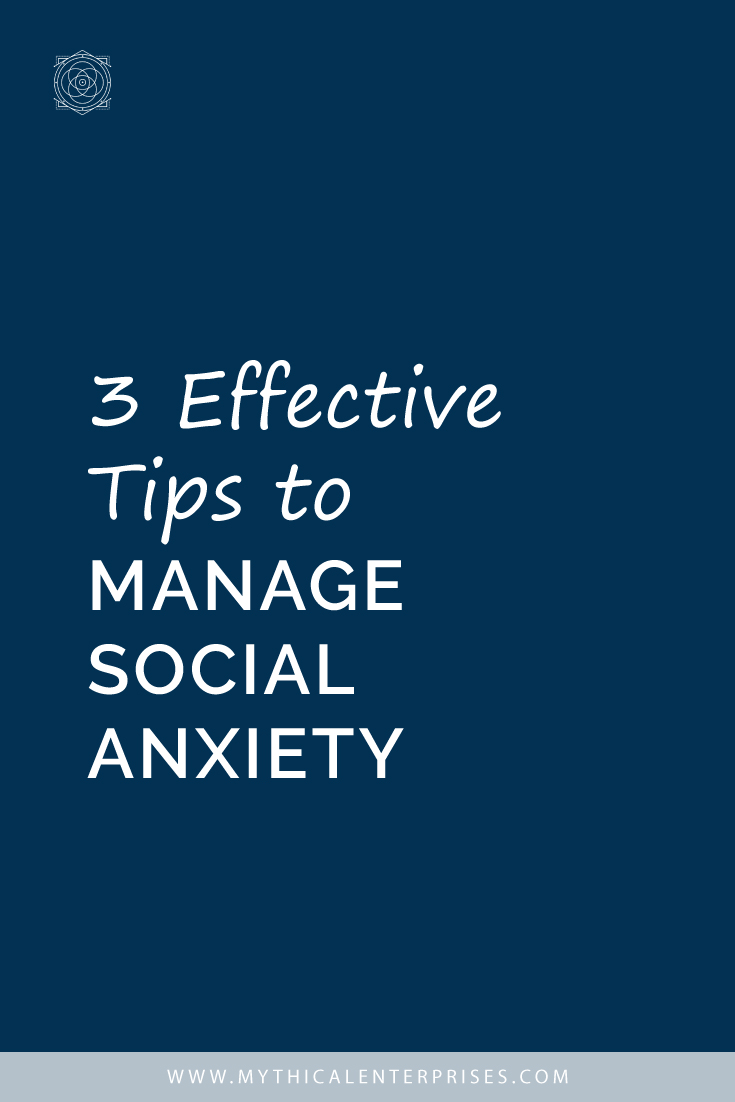 3 Effective Tips to Manage Social Anxiety