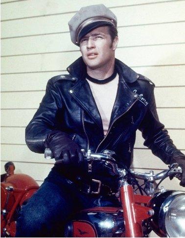 "Marlon Brando as Johnny in ""The Wild One"" (1953)"