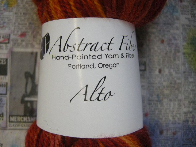 Actual Yarn Label