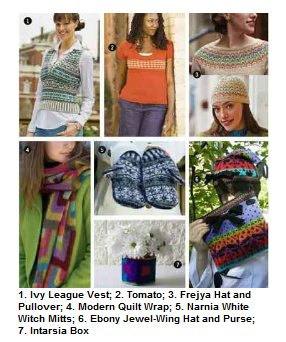 Exploring Color Knitting: 7 Free Patterns Using Intarsia, Stranded Knitting, and Fair Isle Knitting Techniques  A Free Downloadable eBook
