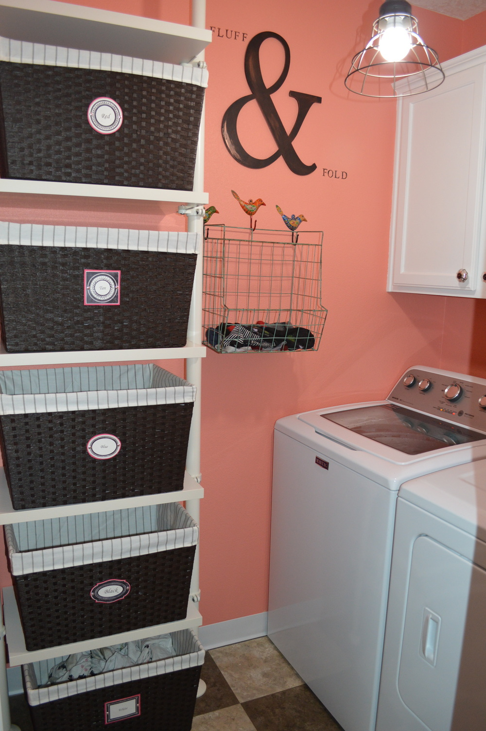 My Vertical Laundry Basket Dresser