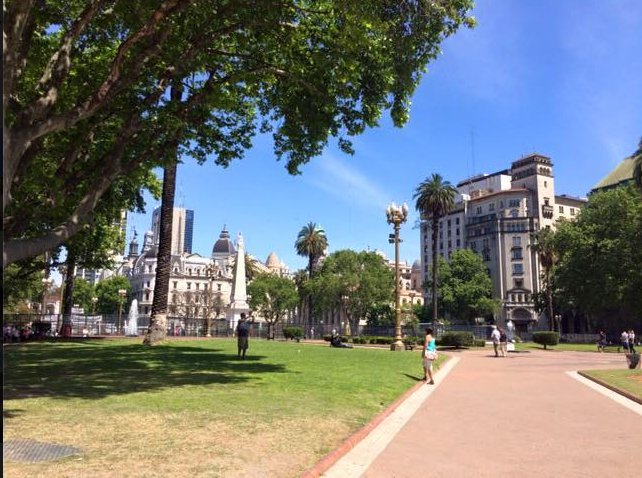 Town Square, Buenos Aires