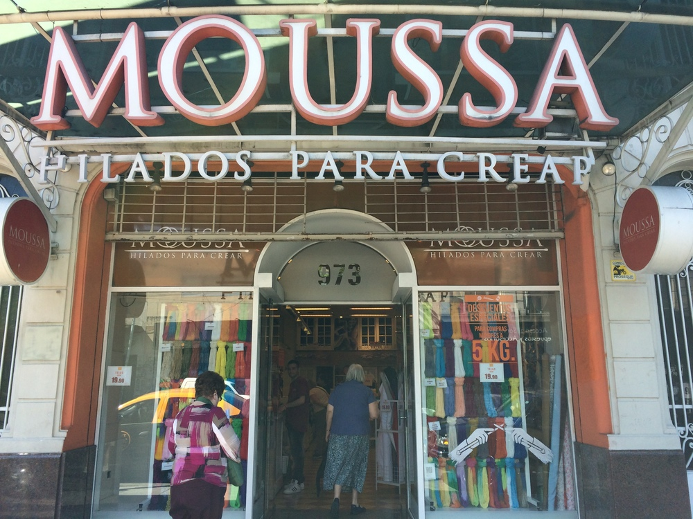 Moussa Lanas , the oldest yarn store in the district