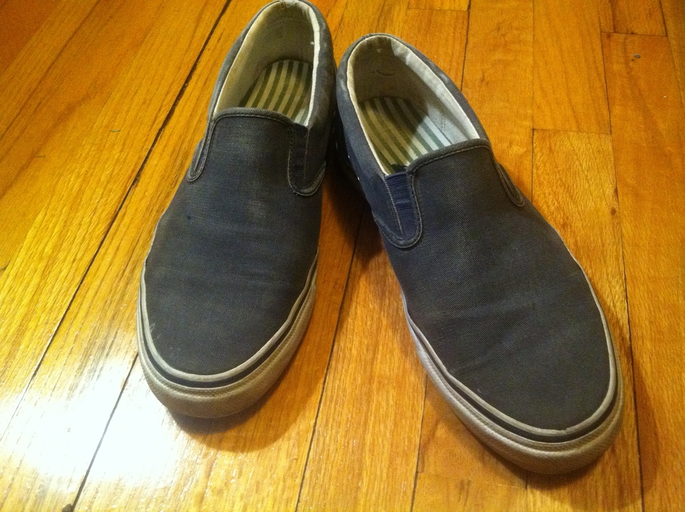 My favorite: Sperry Topsiders