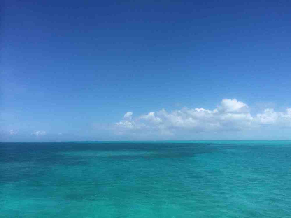 Beautiful Bahamian water.