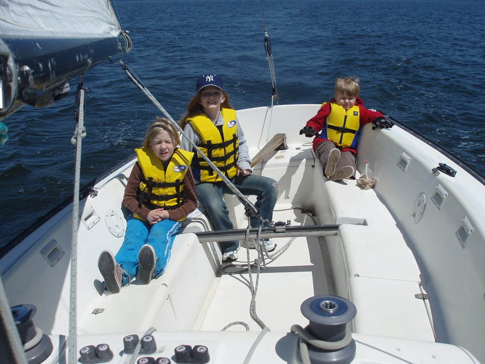Learning to sail in Long Island Sound