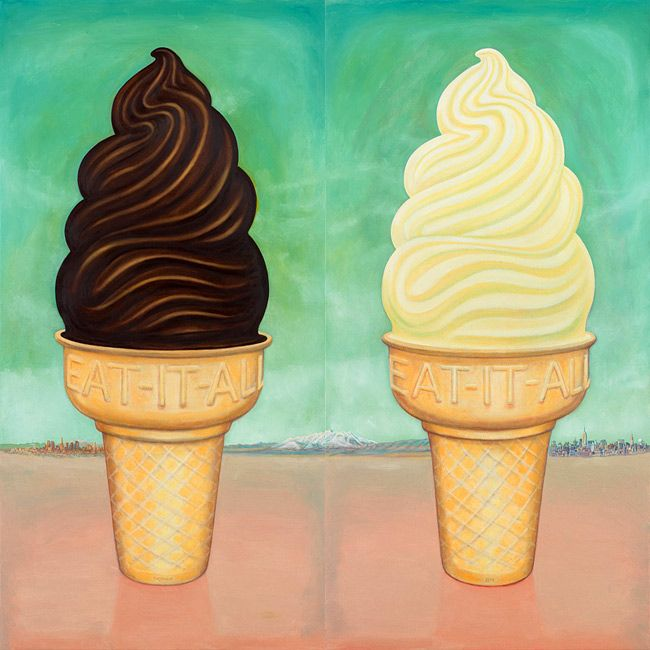 Ice Cream Cones by  Kent christensen
