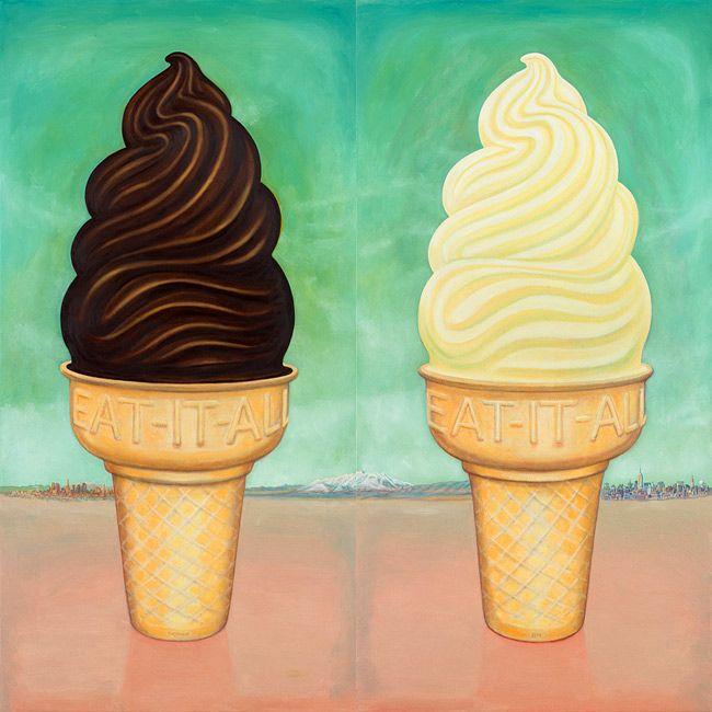 Ice Cream Cones by Kent christensen