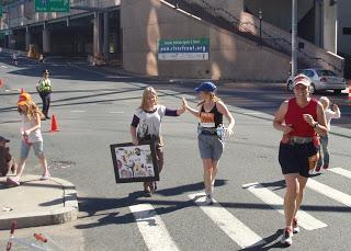 Positive peer pressure at the Hartford 26.2,2008
