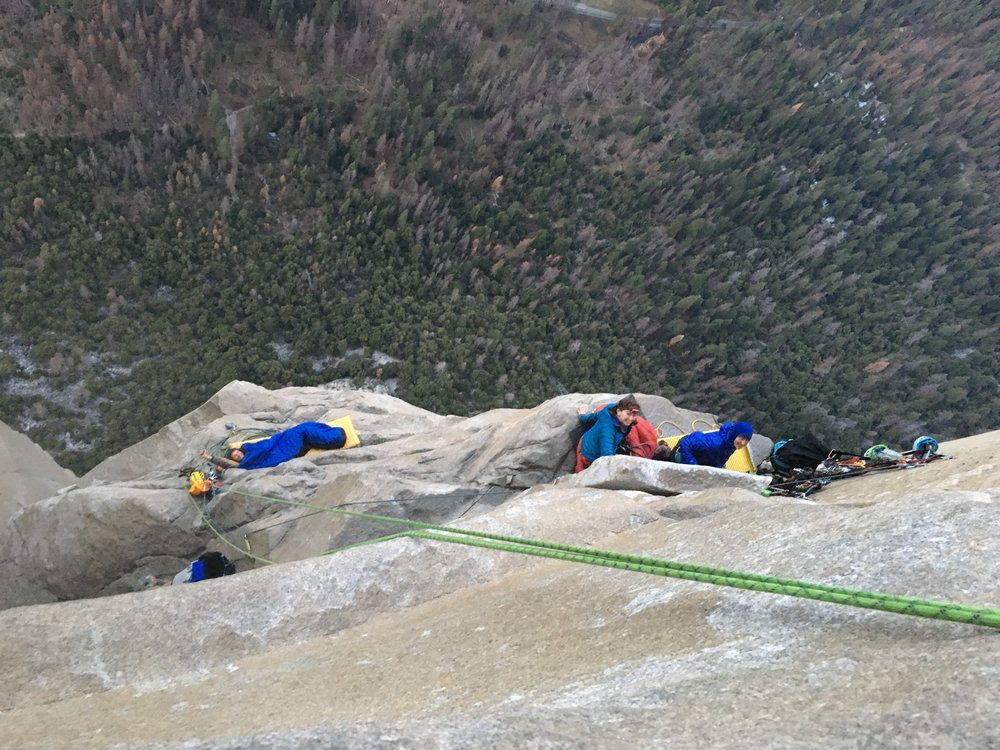 Waking up on the ledges of Camp V
