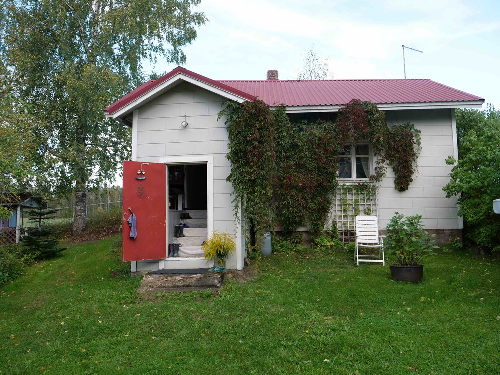 My aunt Tarja's country cottage.