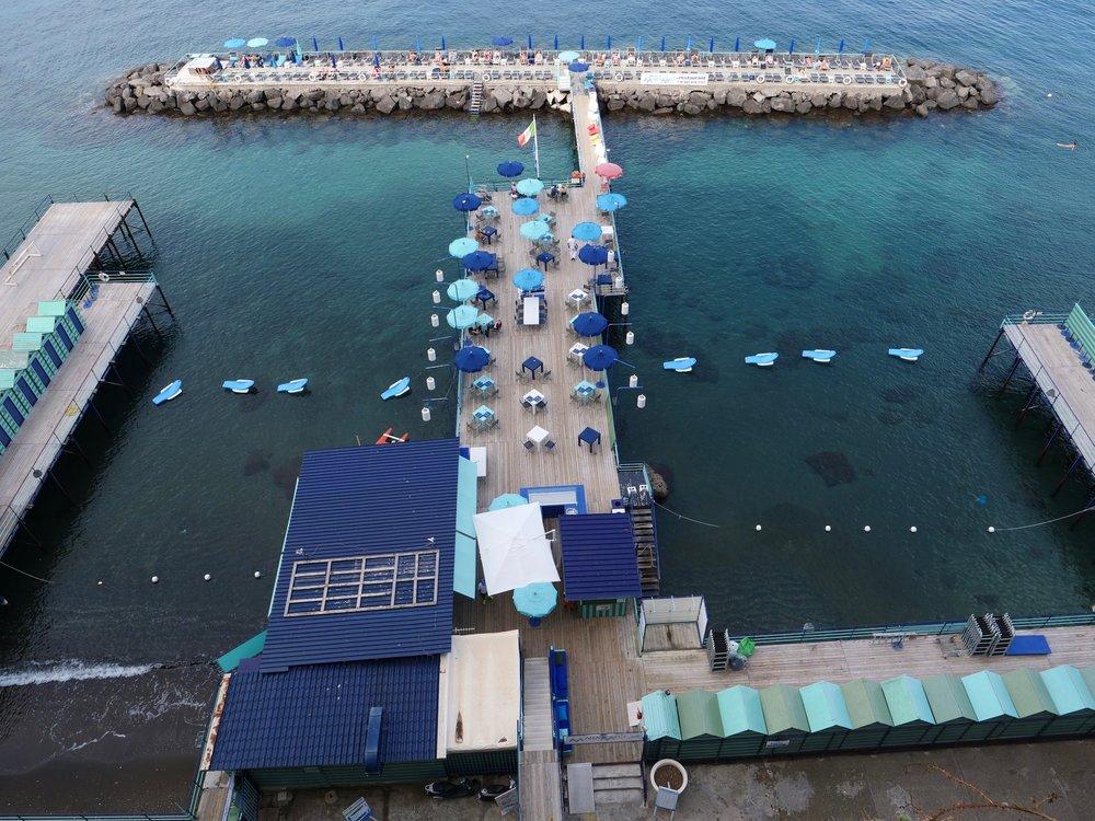 The pier in Sorrento.