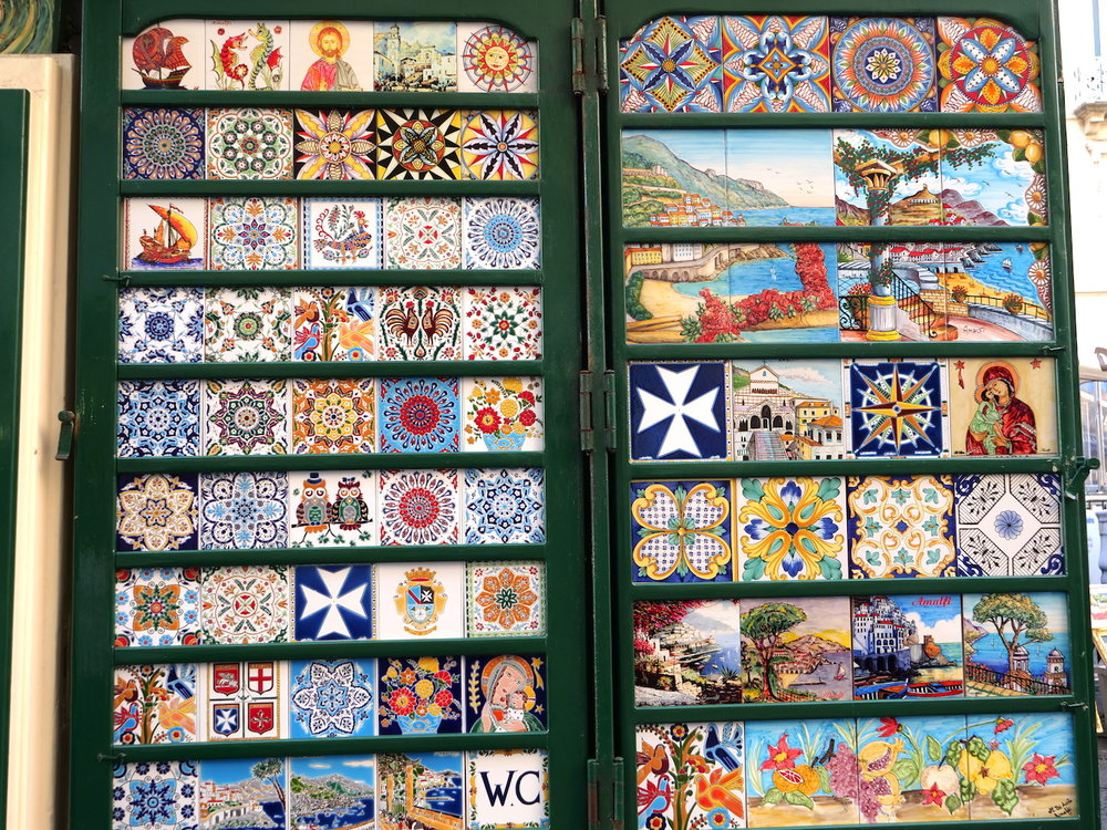 Gorgeous tile art for sale.
