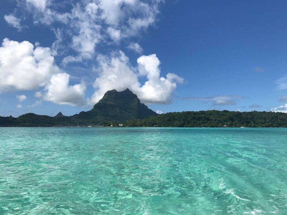 So many islands, so little time. Bora Bora 2017