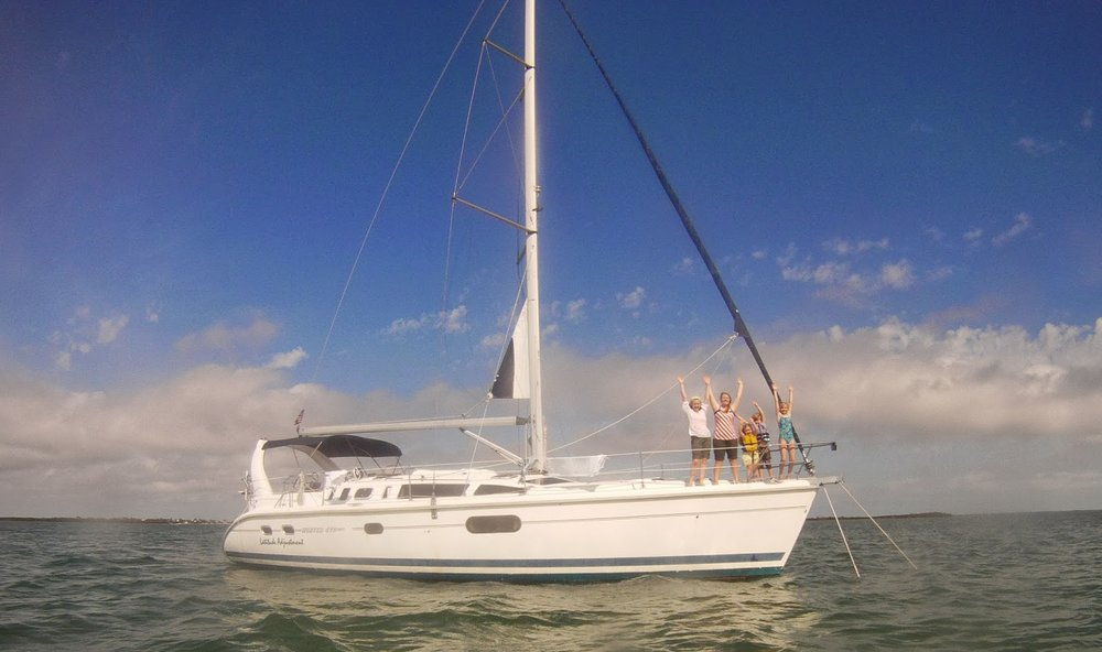 First family overnight sailing experience, Florida Keys