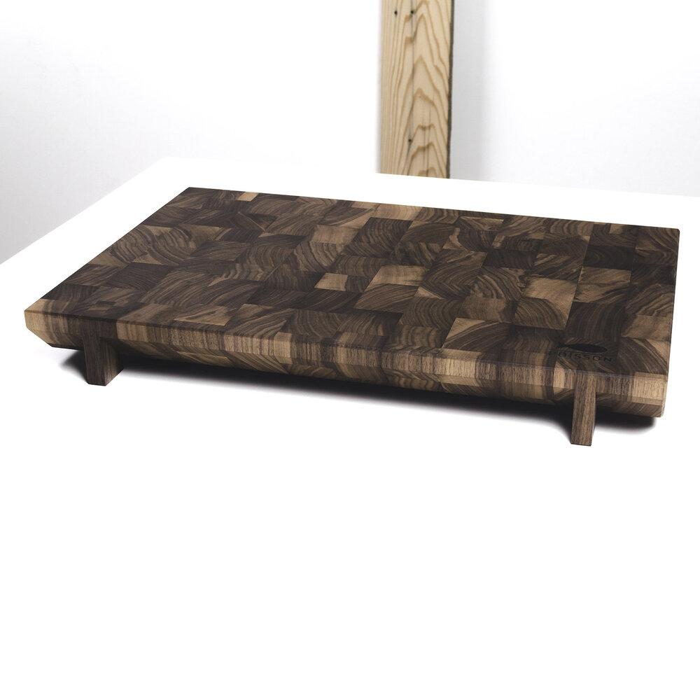 Planche d couper boutique bloc poisson for Planche en bois noir