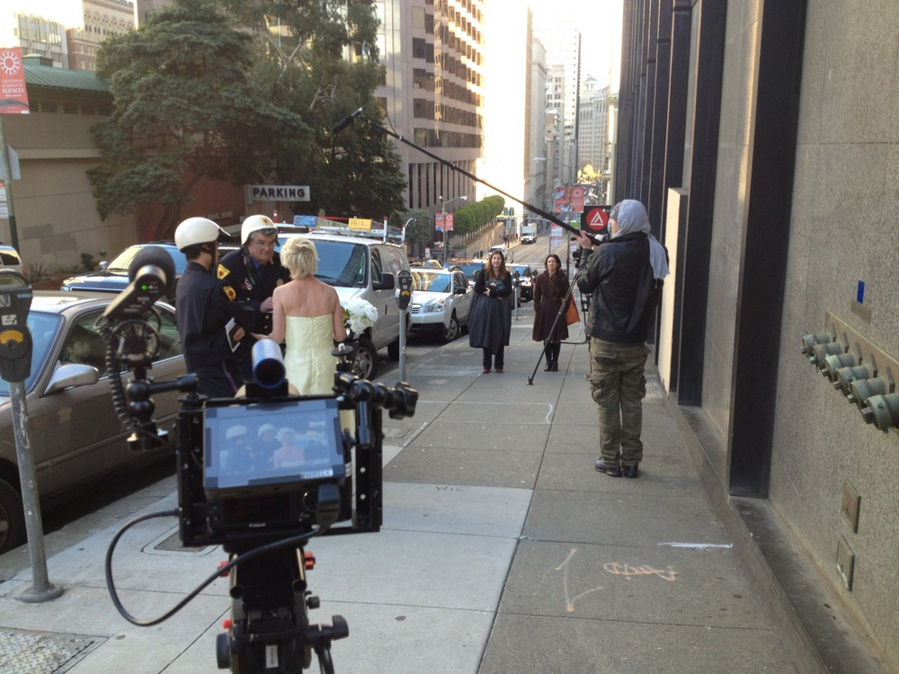Guerilla Filming at its' finest. Downtown, San Francisco