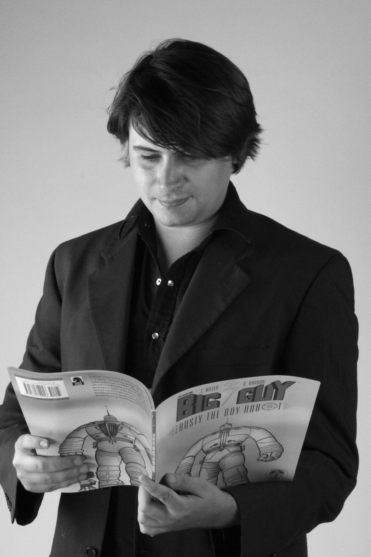 Comic Book Gustav Carlson