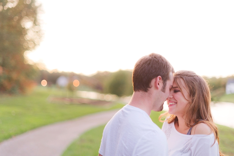 engagement pictures of Cara + Jake who are madly in love. #RealLove