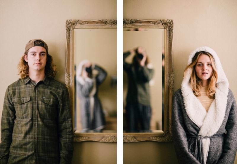 you & me , 2018. photographic diptych