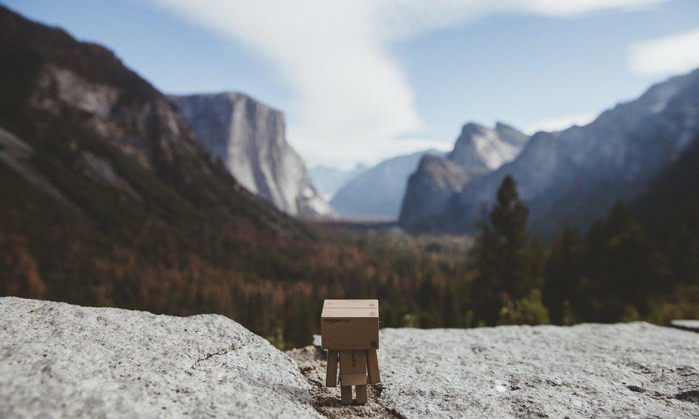 Danbo Dreams of Yosemite