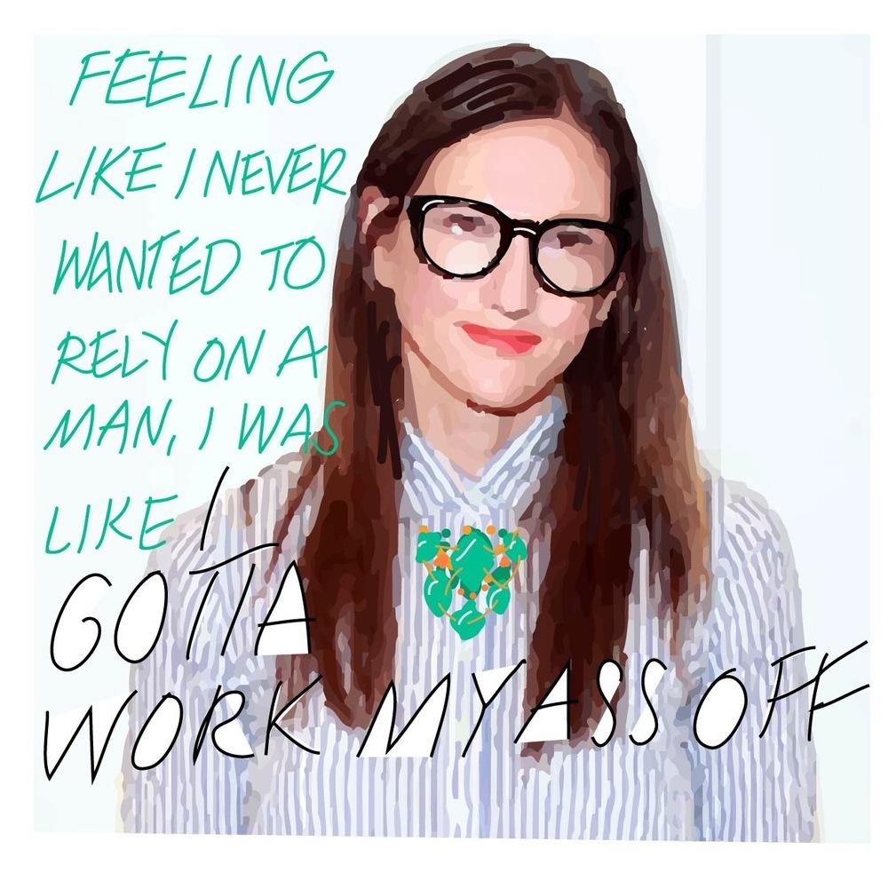 Jenna Lyons- J Crew Creative Director + Brand Savior