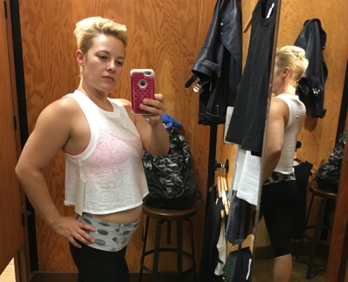 Mirror, mirror, on the wall, which fancy Lululemon crop top looks better than them all?
