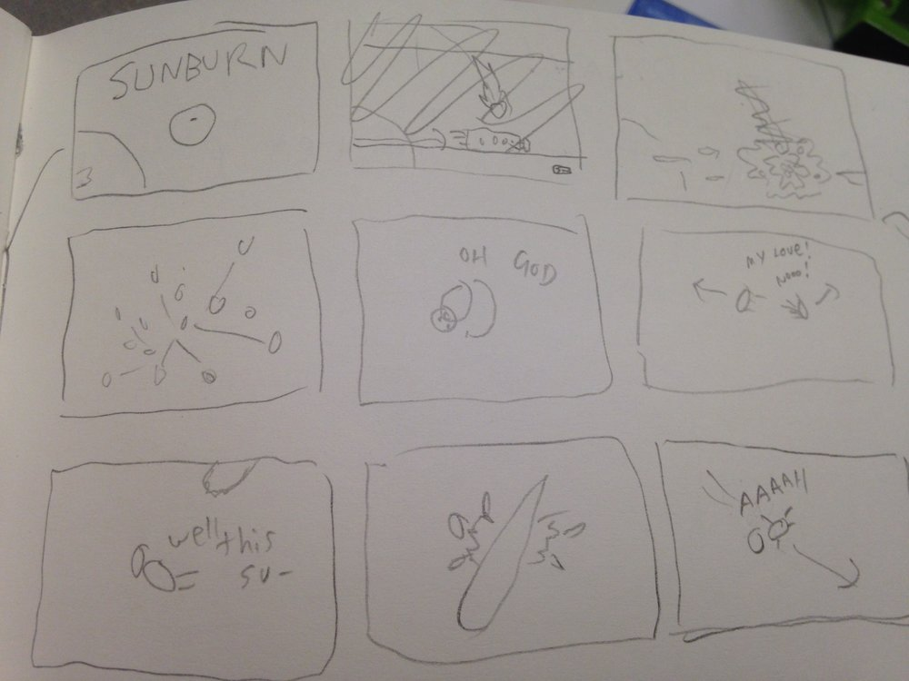 Storyboard of Intro Video