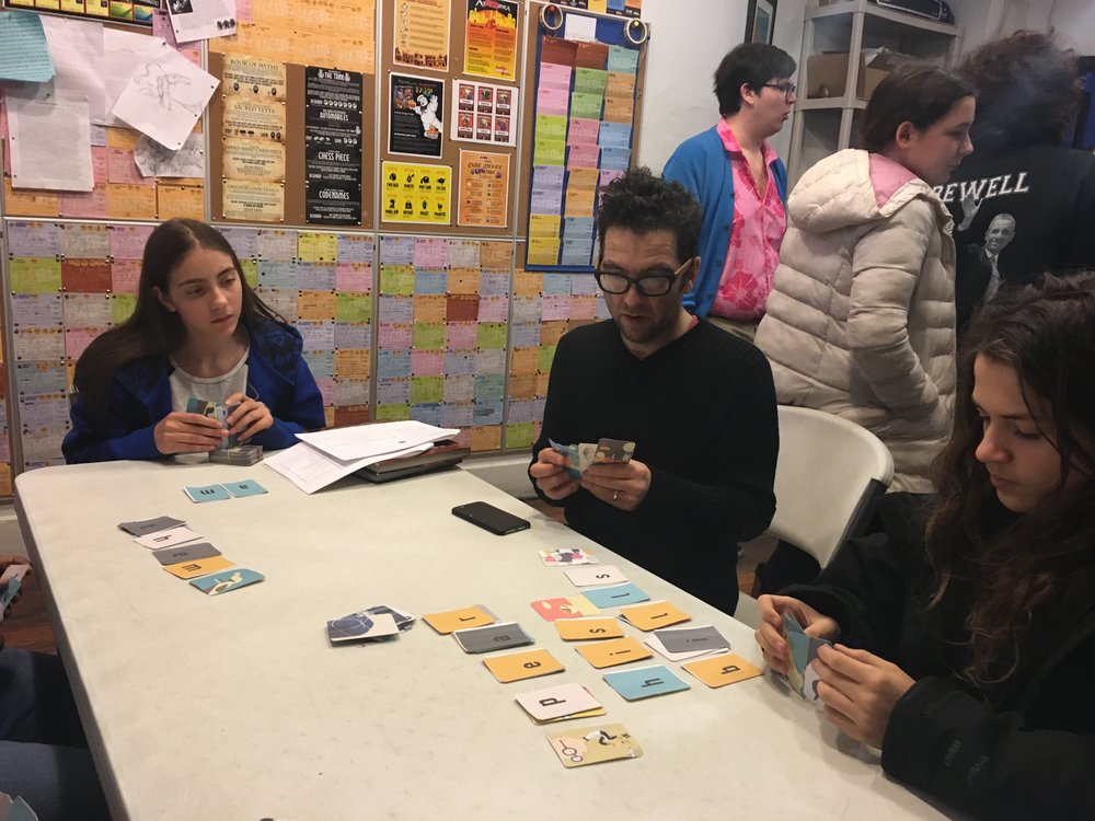 A playtest session