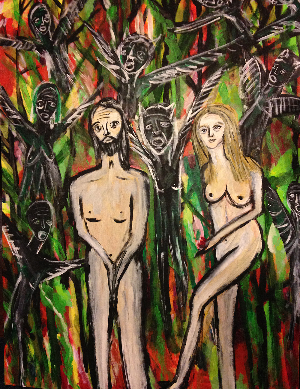Adam and Eve and the Arrival of the Shadows, 2014