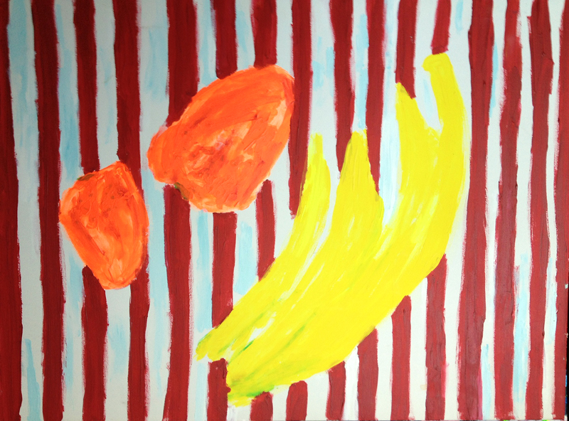 Fruit and Stripes, 2012