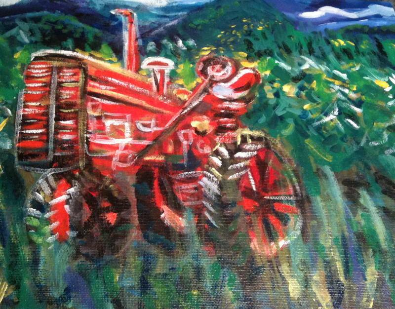 Tractor, 2013